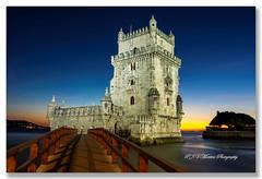 Torre de Belém / Belém Tower (P.J.V Martins Photography) Tags: tower torre landscape city cityscape building monument sunset pordosol dusk lisboa lisbon portugal