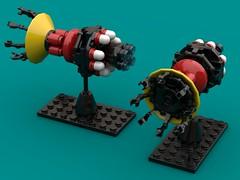 La Vie en Rose HVA (The Hydromancer) Tags: lego space gundam station la vie en rose micro zeta stardust