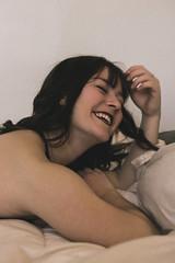 Smoke & Boudoir | 2 (_ALBX_) Tags: naturallight boudoir cigarette smoke woman portrait photographer photography canon canon80d sigma 30mm albxphoto albx art bedroom