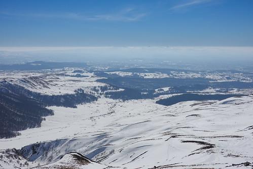 2019-02-24 (04) @Massif du Sancy.Tour Carrée du Val de Courre---}Cirque de la Fontaine Salée & Plateau de l'Artense
