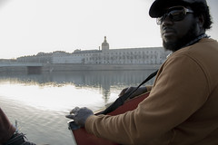 Chill (revoli photo) Tags: lyon slack slackline bateau soane rhone parc song city sun bird