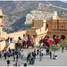 Fort Ajmer - Amber Fort in Jaipur in India ...