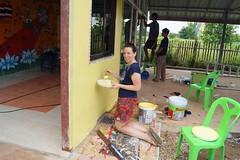 Rénovation d'une salle de classe en Thaïlande (infoglobalong) Tags: stage étudiant service bénévolat volontaire international engagement solidaire voyage découverte enseignement éducation école enfants aide alphabétisation scolaire asie thaïlande jeux sport art informatique rénovations