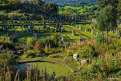 Le cimetière du château de Stirling (Explore 20/03/2019) (didier95) Tags: cimetiere stirling ecosse vert paysage