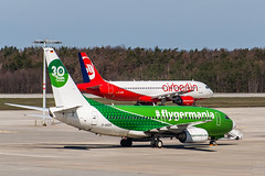 D-ABZI vs. D-AGER / soon history / @ DRS / 2019-03-20 (astrofreak81) Tags: explore eurowings airberlin air berlin germania carlyle aviation partners carlyleaviationpartners ew st gim airport drs eddc dresden aircraft airbusa320216 airbus a320216 a320 boeing73775b boeing 73775b b737 registration dabzi dager 20190320 sylviomüller sylvio müller astrofreak81