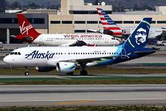 Alaska Airlines   Airbus A319   N526VA   Los Angeles International (Dennis HKG) Tags: aircraft airplane airport plane planespotting canon 7d 100400 losangeles klax lax alaska alaskaairlines asa as usa virginamerica vx vrd airbus a319 airbusa319 n526va