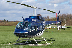 G-LONE - 1982 build Bell 206L-1 Long Ranger, visiting Barton (egcc) Tags: 45729 barton bell bell206l bell206l1 centralhelicopters cityairport egcb gcdaj glone helicopter lightroom longranger manchester n20ap n3174w northumbriahelicopters
