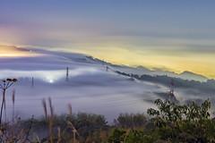 南投 橫山 (bibi.barbie) Tags: taiwan 南投縣 南投市 橫山步道 雲 天空 雲海 琉璃光 風景