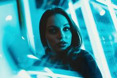 The blues (AlexanderHorn) Tags: blues portrait woman beauty lighting sony a7riii cyan portraiture people face eyes