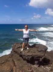 Roche Qui Pleure viewpoint, Mauritius / Смотровая площадка Ля-Рош-ки-Плер (Плачущая Скала) (dmilokt) Tags: природа nature пейзаж landscape песок sand цвет color colour пляж beach море океан sea ocean dmilokt