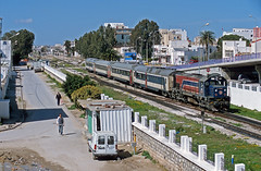GT569 Hammam Lif/Tunisia (Gridboy56) Tags: sncft tunisia tunisville sousse hammamlif gt 569 gt569 coaches coach train trains railways railroad diesel