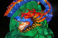 Enter the Dragon... (Viejito) Tags: cne canadiannationalexhibition theex toronto ontario canada geotagged geo:lat=43635427 geo:lon=79411924 canon s100 canons100 powershot enercarecentre legendsofthesilkroad ddmentertainment lantern festival silk 十五瞑 wire 上元節 lights 元宵節 dragon 上元节 cans2s 元宵节 china eyes teeth tongue tail 龍爭虎鬥 龙争虎斗