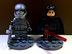 Sequel Trilogy Villains (TheHighGround2187) Tags: star wars lego starwars starwarslego legostarwars minifigures jedi last awakens force han rey poe finn luke leia skywalker solo organa movies kenobi obiwan yoda blasters red helmets galaxy space rebels rebellion ghost crew team family mandalorian