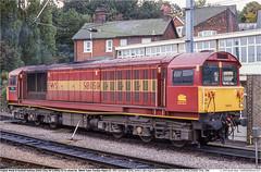 58050GB_Ipswich_221098 (Catcliffe Demon) Tags: railways uk class58 brel ukrailimages1998 diesellocomotive ews englishwelshscottishrailway ewsrailway breltype5 rosters suffolk