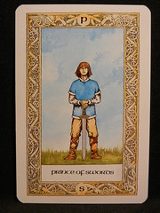 Prince of Swords. (Oxford77) Tags: tarot thenorsetarot norse viking vikings cards card tarotcards