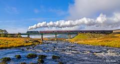 45407 - Rannoch - Scottish Bash 2014  (1) (Mike Heath Photo) Tags: west highlad line highlands rannoch moor scottish bash lms london midland stanier class 5 460 5407 45407