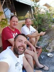 Gang together again! (Toni Kaarttinen) Tags: usa unitedstates florida wpb america lakeworth lw palmbeachcounty man guy beard bear selfie hairy scruff friends gang men