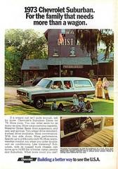1973 Chevrolet Suburban Estate (aldenjewell) Tags: 1973 chevrolet suburban estate truck ad