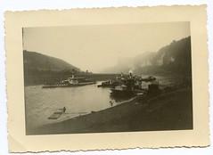 . (Kaïopai°) Tags: raddampfer steamer ship schiff elbeschifffahrt elbe rive elbsandsteingebirge dampfschiff fluss flus anleger bootsanleger nebel