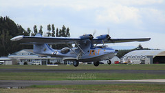 ZK-PBY Catalina - Ardmore Airport (hughwilson28) Tags: zkpby nzar ardmore catalina flyingboat radial