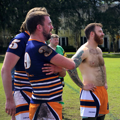 Halifax Highlander (Mike McCall) Tags: copyright2019mikemccall photography photo image usa culture southern america thesouth unitedstates northamerica south georgia stpatricksdayrugbytournament stpatrick day rugby tournament game sport sports field pitch football savannah chatham county documentary editorial side daffin park daffinpark parkside