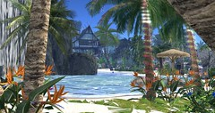 Shagwong Cove Resort (2) (Osiris LeShelle) Tags: secondlife second life shagwong cove resort sim sl connoisseur review beach tropical sea ocean summer