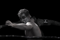 Wrestling - Ripetide: Deep Six (Cara Noir vs Ashmore) (Yours Sinclairly) Tags: wrestling riptide brighton