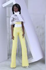Fashion Royalty Vanessa Serenity (Regina&Galiana) Tags: fashionroyalty fashion fashiondoll doll barbie integritytoys fr3 nuface vanessa kyori giselle yellow