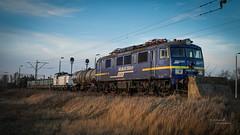 EU07E-083 Majkoltrans (Rafał Jędrasiak) Tags: eu07e083 majkoltrans a6500 sony emount track train
