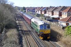 33012 (D6515) - Meols (8A.Rail) Tags: 33012 d6515 meols rubyvampire branchlinesociety bls 1z87 ltjennylewisrn