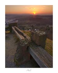 Sunset Rail (Max Angelsburger) Tags: pznewspforzelonapforzheimpforzheimgramphotoruptfiftyshadesofnaturestunningshotsigersmoodadventurethatislifenaturebrilliancekeepitwildnaturesultansmastershotsourplanetdailystayandwander wallberg montescherbelino pforzheim sunset sonnenuntergang badenwuerttemberg badenwürttemberg germany deutschland february februar 2019