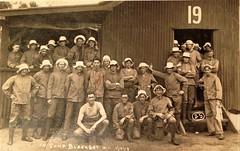 WW1 recruits at Blackboy Hill training camp, Western Australia - 1918 (Aussie~mobs) Tags: westernaustralia soldiers aif anzac military army australia blackboyhill recruits training hut19 larrikin lestweforget