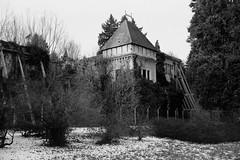 Arboretum Opeka (Koprek) Tags: fujigw690ii fomapan 100 film 6x9 croatia arboretum opeka park castle january 2019
