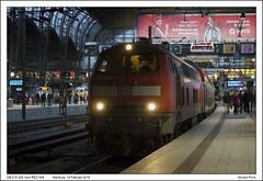 DB 218 329 - Hamburg Hbf - RE21446 (19-02-2019) (Vincent-Prins) Tags: db br218 218329 hamburg hbf re21446