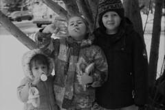 The Degzar Kids (Pics from the Bird Cage) Tags: argentique leica leicaiiic rangefinder hp5 film ilfordhp5plus400 35mm alberta ishootfilm leica3c ilfordhp5plus ilfosol3 edmonton edmontonalberta blackandwhite blackwhite summitar summitar5cmf20 barnack whyteavenue analog analogue bulkfilm classiccamera camera monochrome iso iso400 portrait
