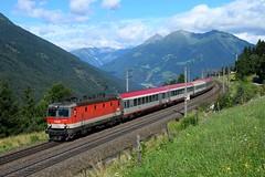 1144 063, IC 592 ( Salzburg > Klagenfurt ). Penk (M. Kolenig) Tags: 1144 intercity berg tauernbahn