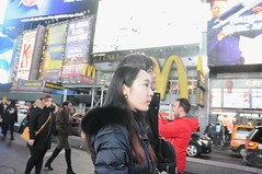 A Typical Times Square Photoshoot 2019 (zaxouzo) Tags: timessquare 2019 photoshoot ny streetstyle nikon typical public people asian fashion nikond90 night saturdaynight