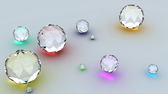 diamonds_shape_reflection_surface_15040_1280x720 (andini.dini53) Tags: 3d glass ball
