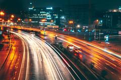 Street Lights | Kaunas #80/365 (A. Aleksandravičius) Tags: street lights kaunas night long exposure cars wet raining lietuva lithuania europe 2019 nikon nikkor 50mm 50 365 365days 3652019 z7 nikonz7 50mmf14g nikkor50mm nikon50mm14g f14g nikon50mm project365 80365