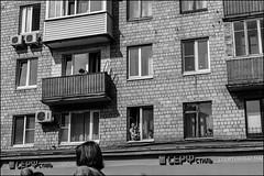18drc0056 (dmitryzhkov) Tags: urban outdoor life human social public stranger photojournalism candid street dmitryryzhkov moscow russia streetphotography people bw blackandwhite monochrome sunshine day shadow light holiday mayday