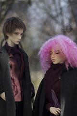 Reuel and Eda (~Shiny Pawprint~) Tags: dollshe fairyland feeple65 saint chloe