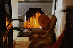 Adding details #5: the living room with the gramophone and the yellow armchair (markfaving) Tags: ideas moc lego fire living house up disney pixar missyou music 4
