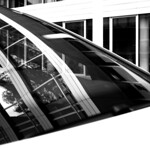 building reflections in car thumbnail