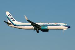 N277EA_20190413_49886_M (Black Labrador13) Tags: n277ea boeing 737 b737 737800 7378cx smartwings bru ebbr avion plane aircraft vliegtuig airliners civil