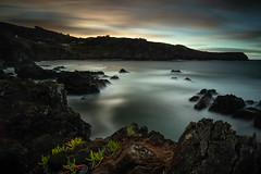 Quatro Ribeiras (Paulo Enes) Tags: açores terceira sol mar baía longexposure ocean sunset