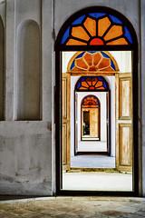 Puertas (marianobs) Tags: puertas salas perspectiva colores vidrieras pasillo nikon d4 2470mm irán
