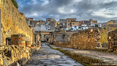 Ercolano, Italy: Ancient Roman ruins at Herculaneum archeological site (nabobswims) Tags: campania ercolona hdr herculaneum highdynamicrange ilce6000 it italia italy lightroom mirrorless nabob nabobswims photomatix romanruins sel18105g sonya6000 ercolano