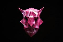 Devil Mask - Jun Maekawa (pierreyvesgallard) Tags: origami mask devil jun maekawa paper folding geometric