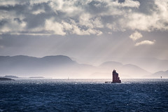 Norway  [EXPLORED] (jpmiss) Tags: lighthouse landscape 70300mm nature norvege hurtigruten canon clouds norway paysage jpmiss travel mspolarlys 6d sea mer lumière light nuages sauvage sørtrøndelag norvège no kjeungskjær