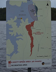 Fred Haig Dam [Lake Monduran] (Dreaming of the Sea) Tags: sign fredhaigdam lake lakemonduran bundaberg queensland australia nikon nikond7200 tamronsp2470mmf28divcusd barramundi